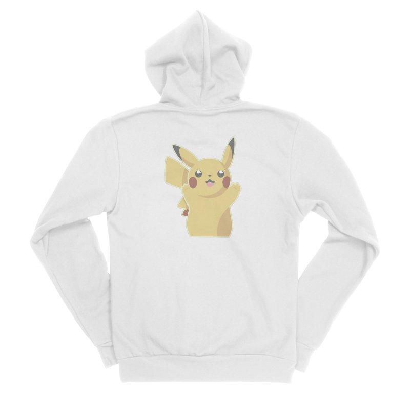 Let's Go Pikachu Pokemon Men's Zip-Up Hoody by jaredslyterdesign's Artist Shop