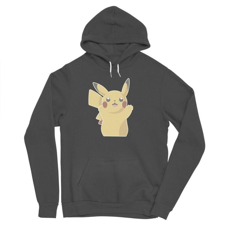 Let's Go Pikachu Pokemon Women's Sponge Fleece Pullover Hoody by jaredslyterdesign's Artist Shop