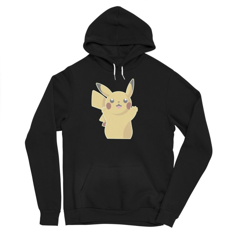 Let's Go Pikachu Pokemon Men's Sponge Fleece Pullover Hoody by jaredslyterdesign's Artist Shop