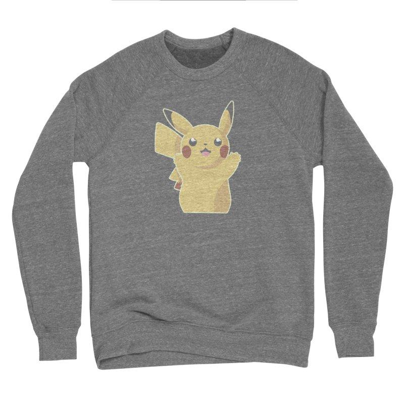 Let's Go Pikachu Pokemon Men's Sponge Fleece Sweatshirt by jaredslyterdesign's Artist Shop