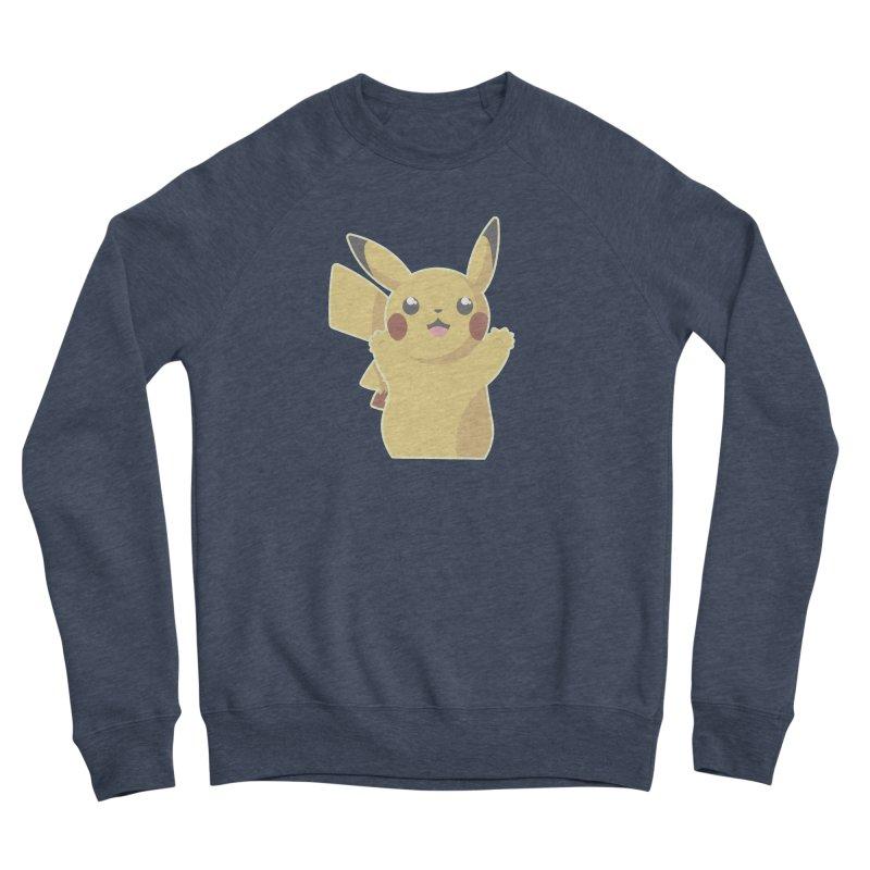 Let's Go Pikachu Pokemon Women's Sponge Fleece Sweatshirt by jaredslyterdesign's Artist Shop