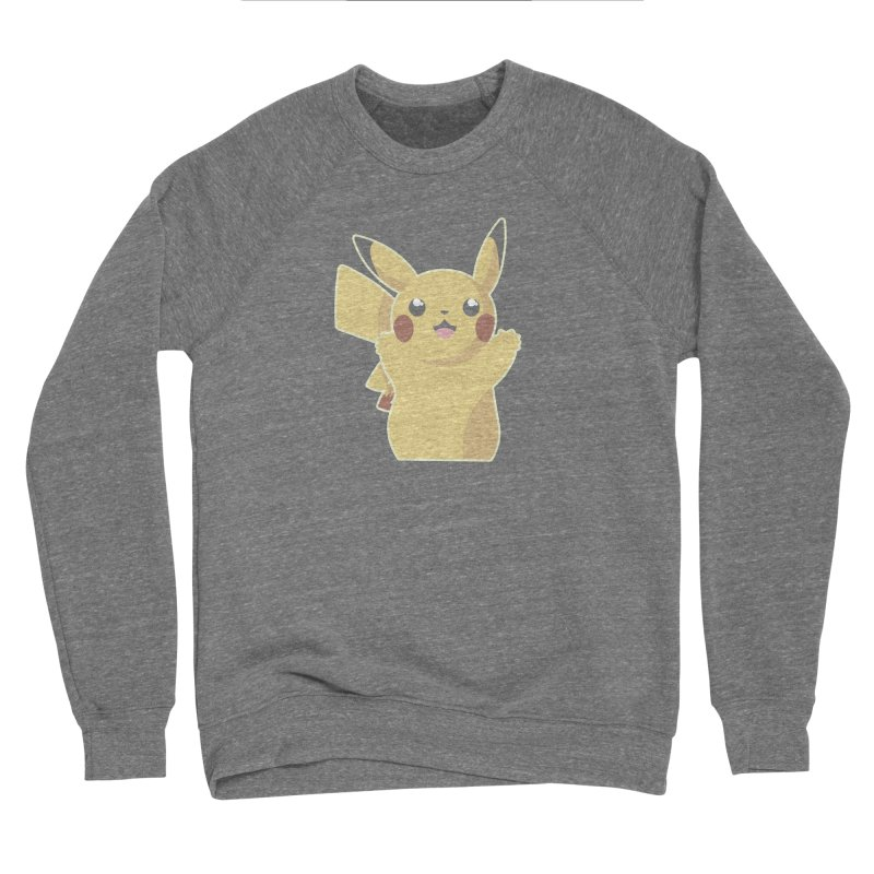 Let's Go Pikachu Pokemon Women's Sponge Fleece Sweatshirt by jaredslyterdesign's Artist Shop