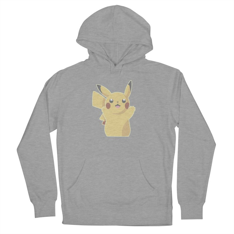 Let's Go Pikachu Pokemon Women's French Terry Pullover Hoody by jaredslyterdesign's Artist Shop