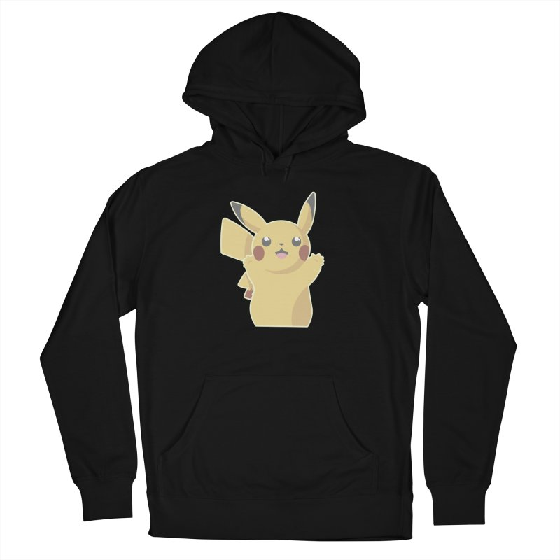 Let's Go Pikachu Pokemon Women's French Terry Pullover Hoody by jaredslyterdesign's Artist Shop