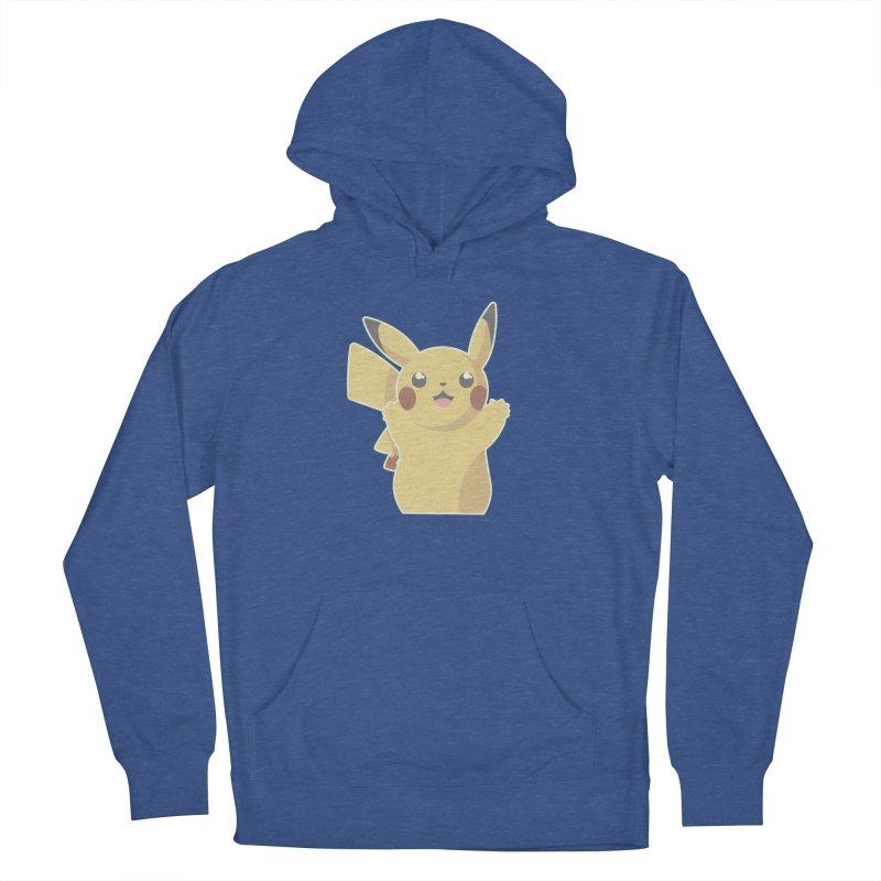 Let's Go Pikachu Pokemon Men's French Terry Pullover Hoody by jaredslyterdesign's Artist Shop