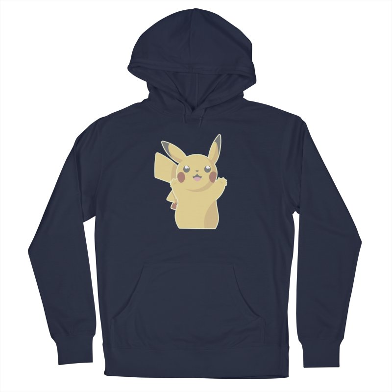 Let's Go Pikachu Pokemon Men's French Terry Pullover Hoody by jaredslyterdesign's Artist Shop