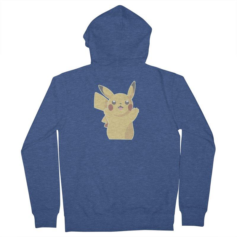 Let's Go Pikachu Pokemon Women's French Terry Zip-Up Hoody by jaredslyterdesign's Artist Shop