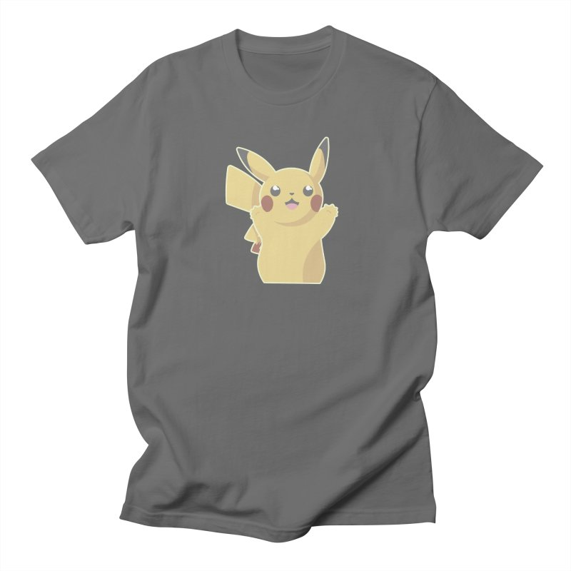 Let's Go Pikachu Pokemon Women's T-Shirt by jaredslyterdesign's Artist Shop
