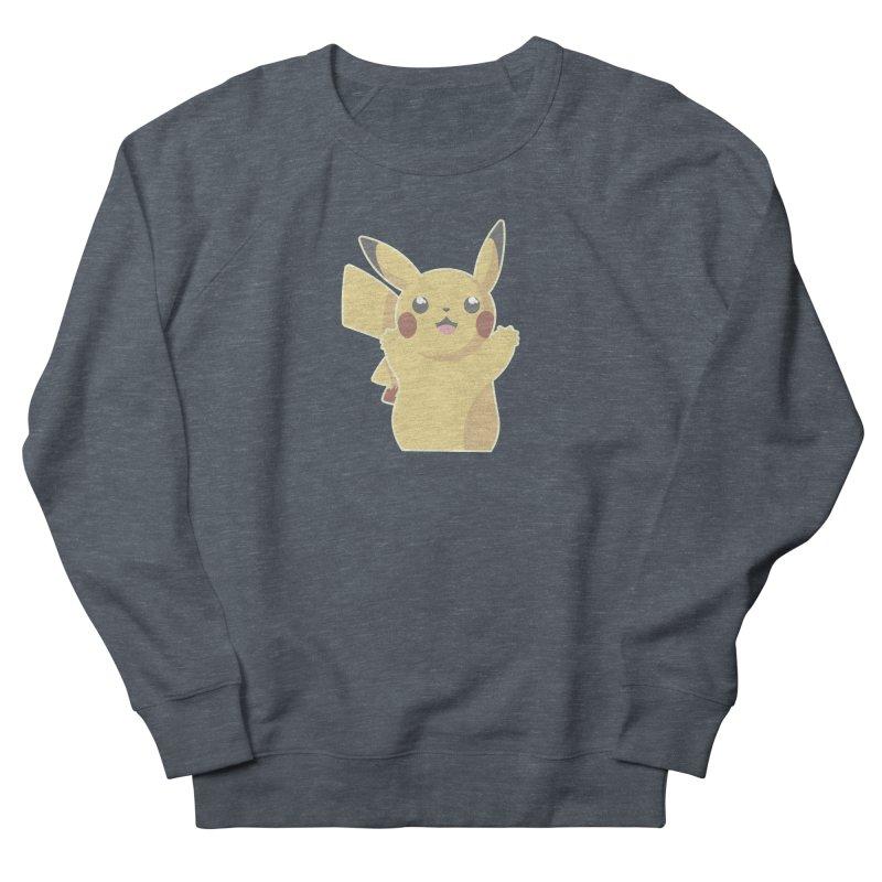 Let's Go Pikachu Pokemon Women's French Terry Sweatshirt by jaredslyterdesign's Artist Shop
