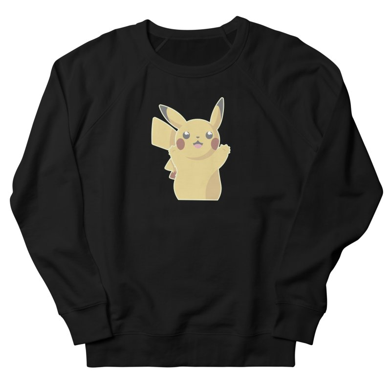 Let's Go Pikachu Pokemon Men's French Terry Sweatshirt by jaredslyterdesign's Artist Shop