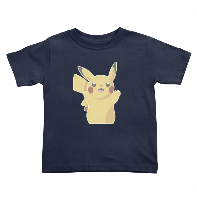 Let's Go Pikachu Pokemon Kids Toddler T-Shirt by jaredslyterdesign's Artist Shop