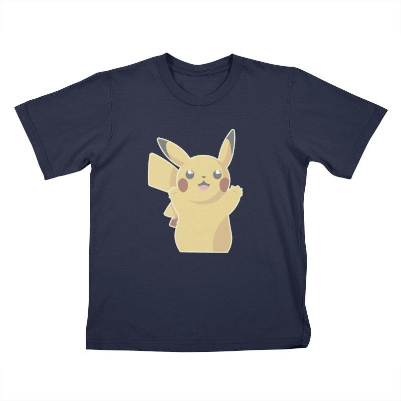 Let's Go Pikachu Pokemon Kids T-Shirt by jaredslyterdesign's Artist Shop