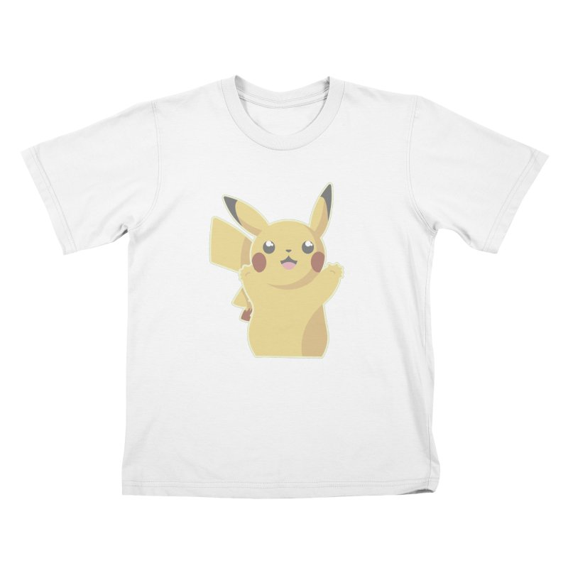 Let's Go Pikachu Pokemon Kids T-Shirt by jaredslyterdesign's Artist Shop