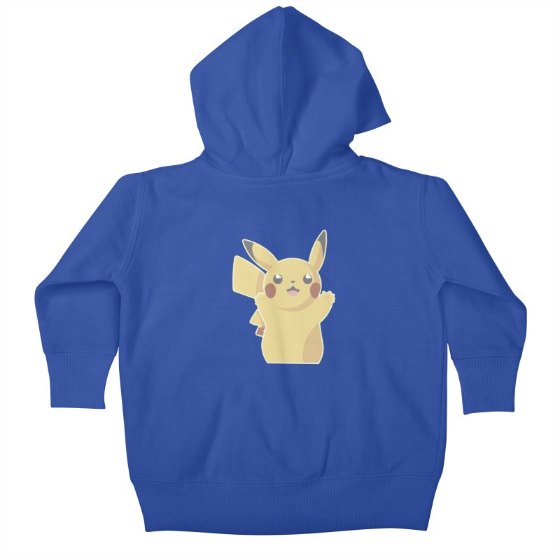 Let's Go Pikachu Pokemon Kids Baby Zip-Up Hoody by jaredslyterdesign's Artist Shop