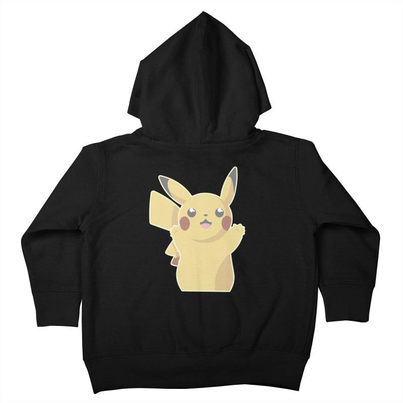Let's Go Pikachu Pokemon Kids Toddler Zip-Up Hoody by jaredslyterdesign's Artist Shop