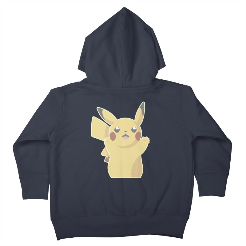 Let's Go Pikachu Pokemon Kids Toddler Zip-Up Hoody by jaredslyterdesign's Artist Shop