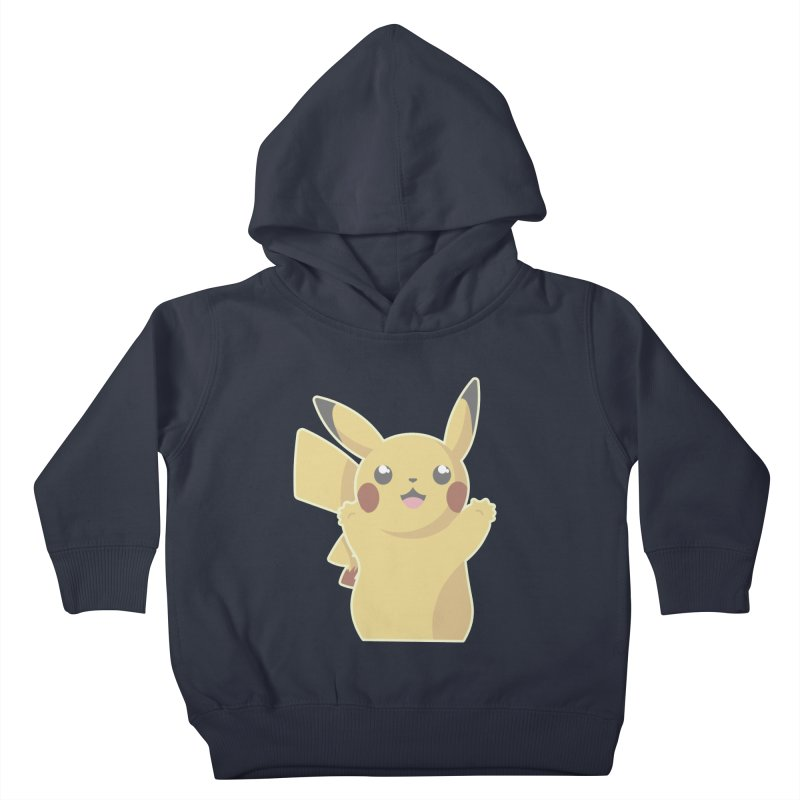 Let's Go Pikachu Pokemon Kids Toddler Pullover Hoody by jaredslyterdesign's Artist Shop