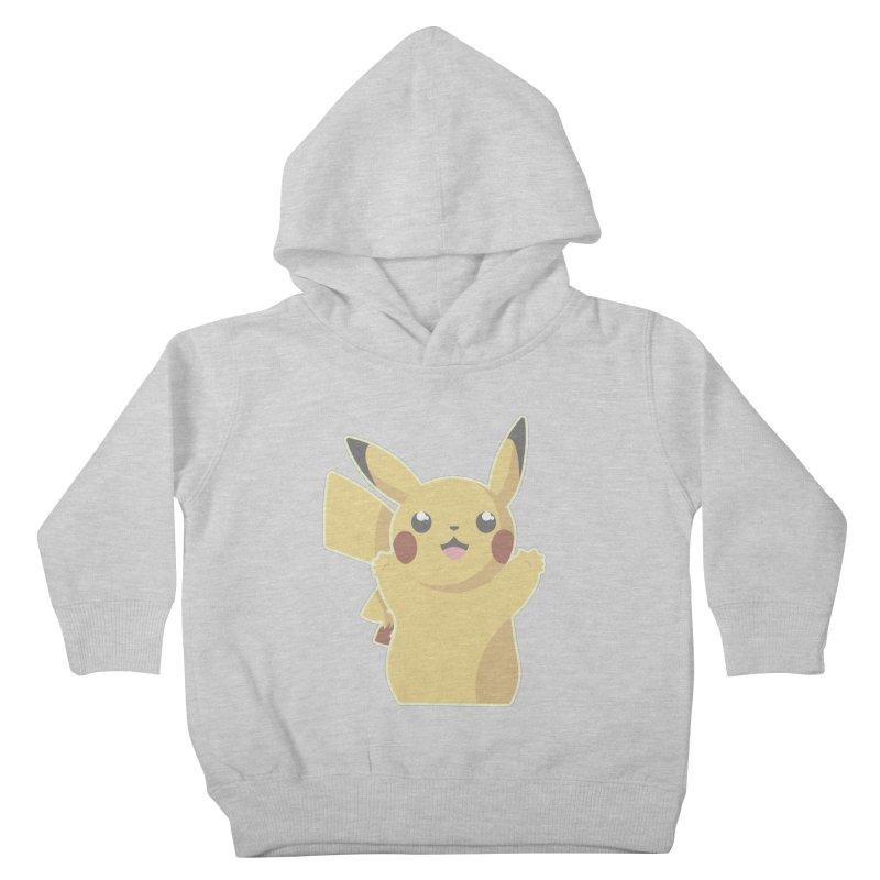 Let's Go Pikachu Pokemon Kids Toddler Pullover Hoody by jaredslyterdesign's Artist Shop