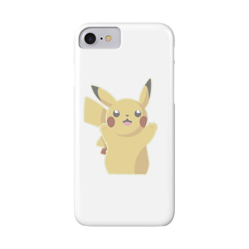 Let's Go Pikachu Pokemon Accessories Phone Case by jaredslyterdesign's Artist Shop