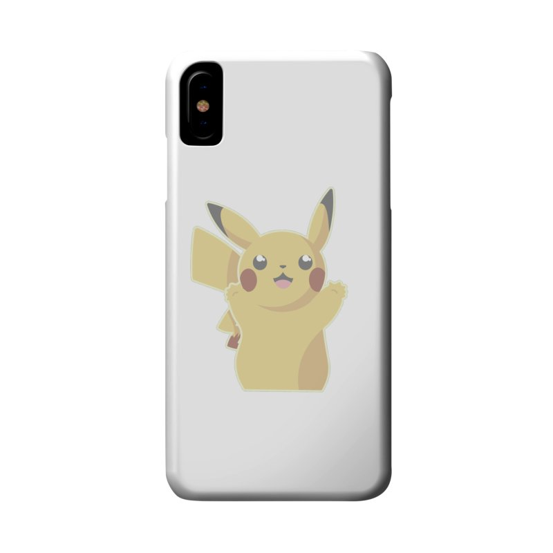 Let's Go Pikachu Pokemon Accessories Phone Case by jaredslyterdesign's Artist Shop