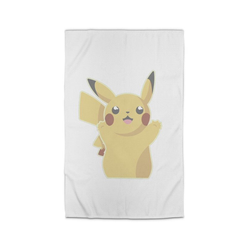 Let's Go Pikachu Pokemon Home Rug by jaredslyterdesign's Artist Shop