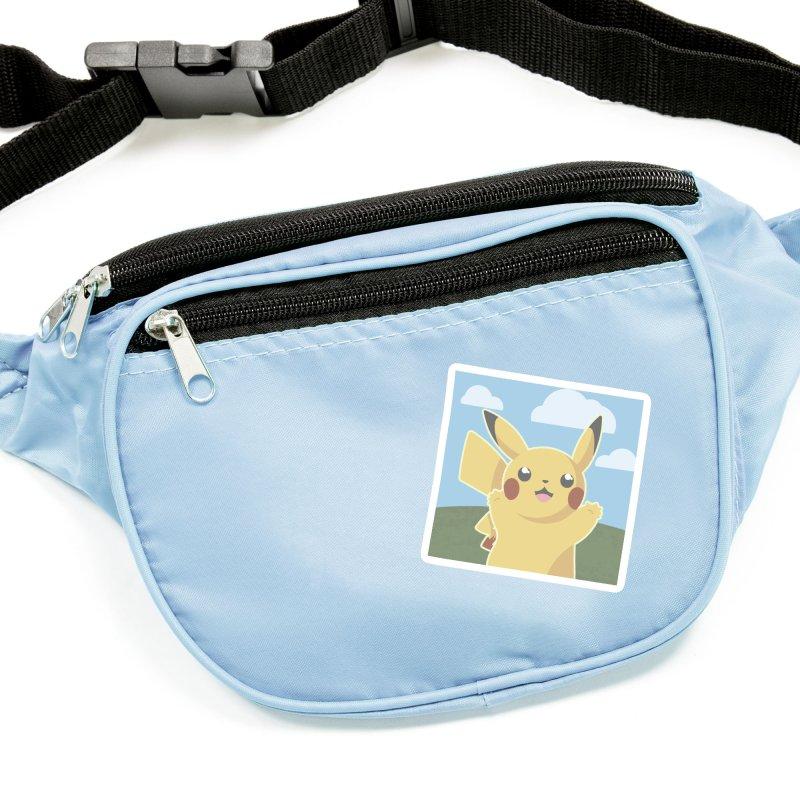 Let's Go Pikachu Pokemon Accessories Sticker by jaredslyterdesign's Artist Shop
