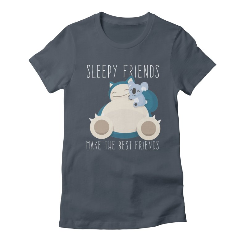 Sleepy Friends Make the Best Friends Snorlax & Komala Women's Lounge Pants by jaredslyterdesign's Artist Shop
