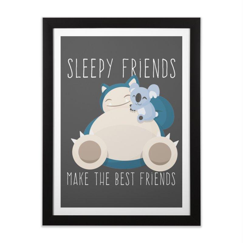 Sleepy Friends Make the Best Friends Snorlax & Komala   by jaredslyterdesign's Artist Shop