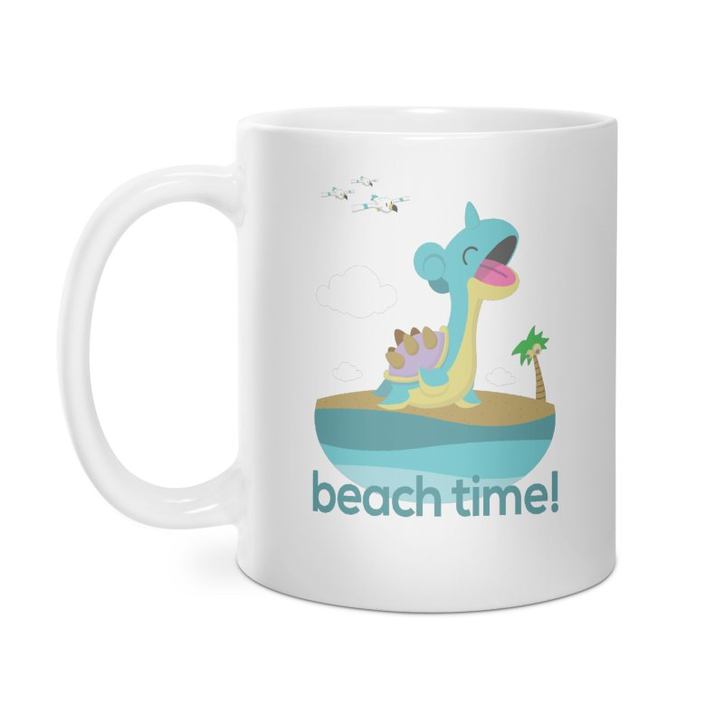 BEACH TIME WITH LAPRAS!   by jaredslyterdesign's Artist Shop