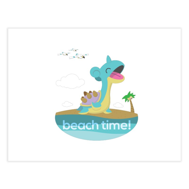 Beach Time! Home Bath Mat by jaredslyterdesign's Artist Shop