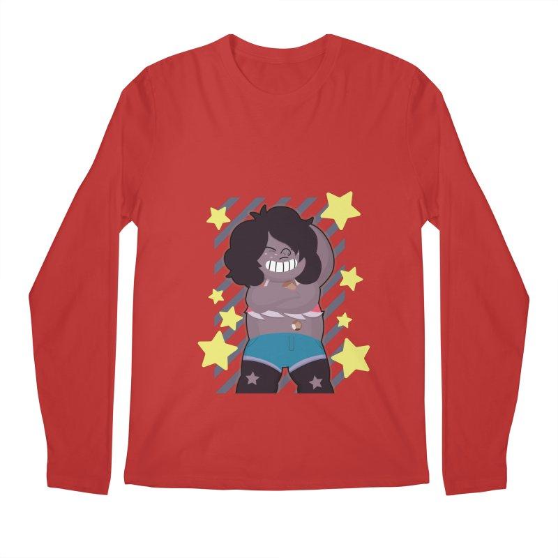 SMOKY QUARTZ STEVEN UNIVERSE Men's Regular Longsleeve T-Shirt by jaredslyterdesign's Artist Shop