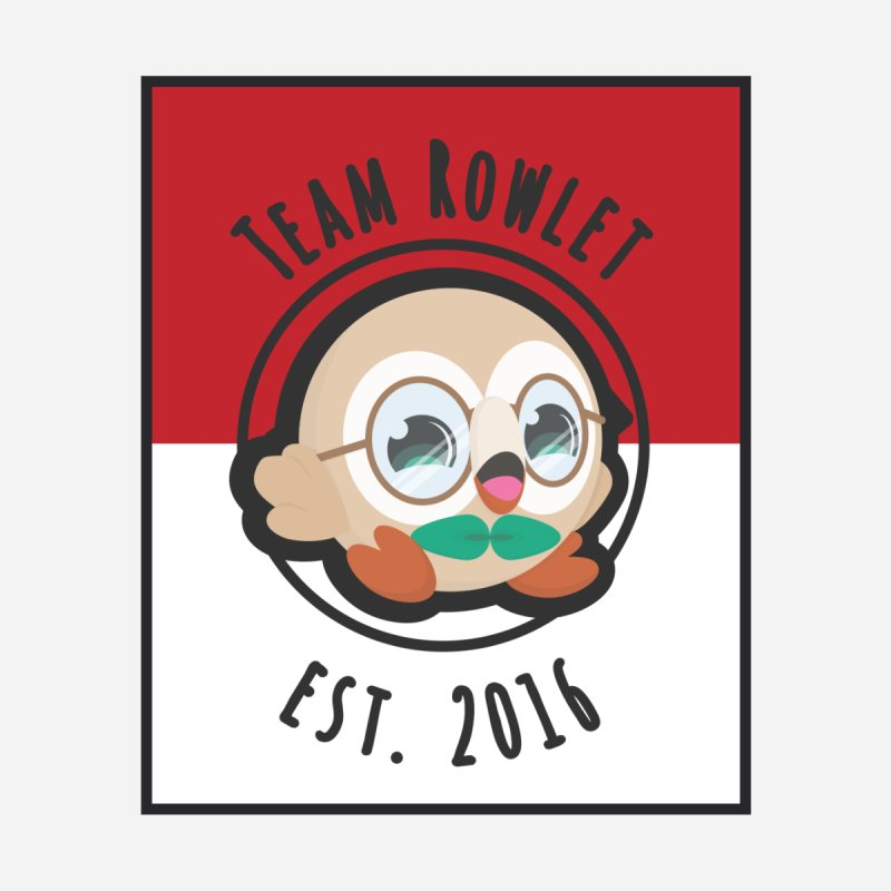 Team Rowlet: Book Worm None  by jaredslyterdesign's Artist Shop