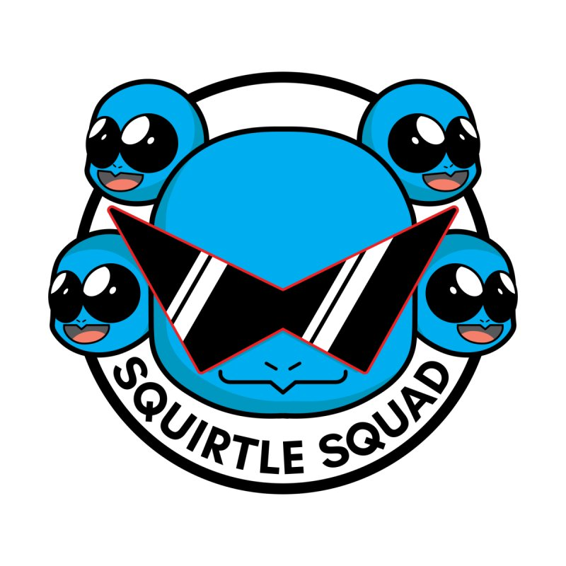 SQUAD GOALS WITH THE SQUIRTLE SQUAD None  by jaredslyterdesign's Artist Shop