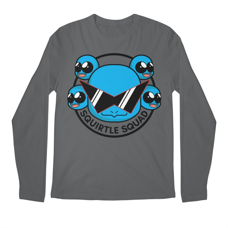 SQUAD GOALS WITH THE SQUIRTLE SQUAD Men's Longsleeve T-Shirt by jaredslyterdesign's Artist Shop