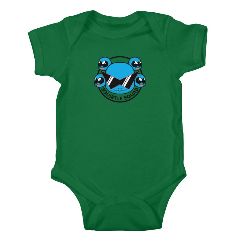 SQUAD GOALS WITH THE SQUIRTLE SQUAD Kids Baby Bodysuit by jaredslyterdesign's Artist Shop