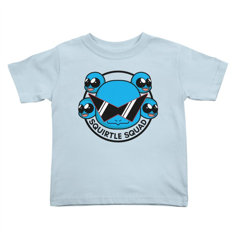 SQUAD GOALS WITH THE SQUIRTLE SQUAD Kids Toddler T-Shirt by jaredslyterdesign's Artist Shop