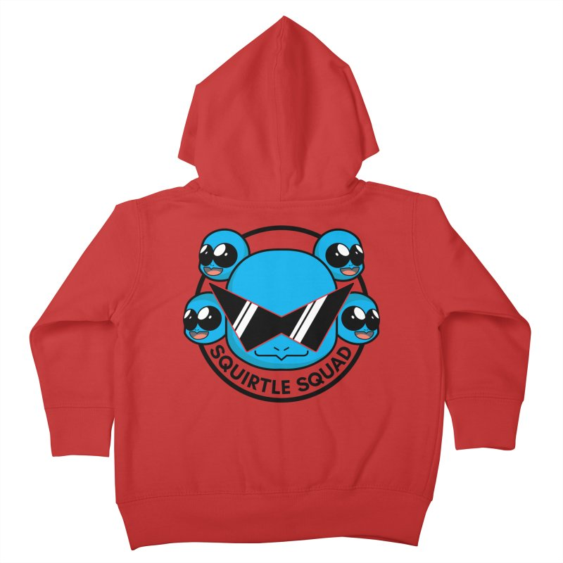 SQUAD GOALS WITH THE SQUIRTLE SQUAD Kids Toddler Zip-Up Hoody by jaredslyterdesign's Artist Shop