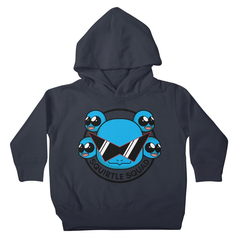 SQUAD GOALS WITH THE SQUIRTLE SQUAD Kids Toddler Pullover Hoody by jaredslyterdesign's Artist Shop