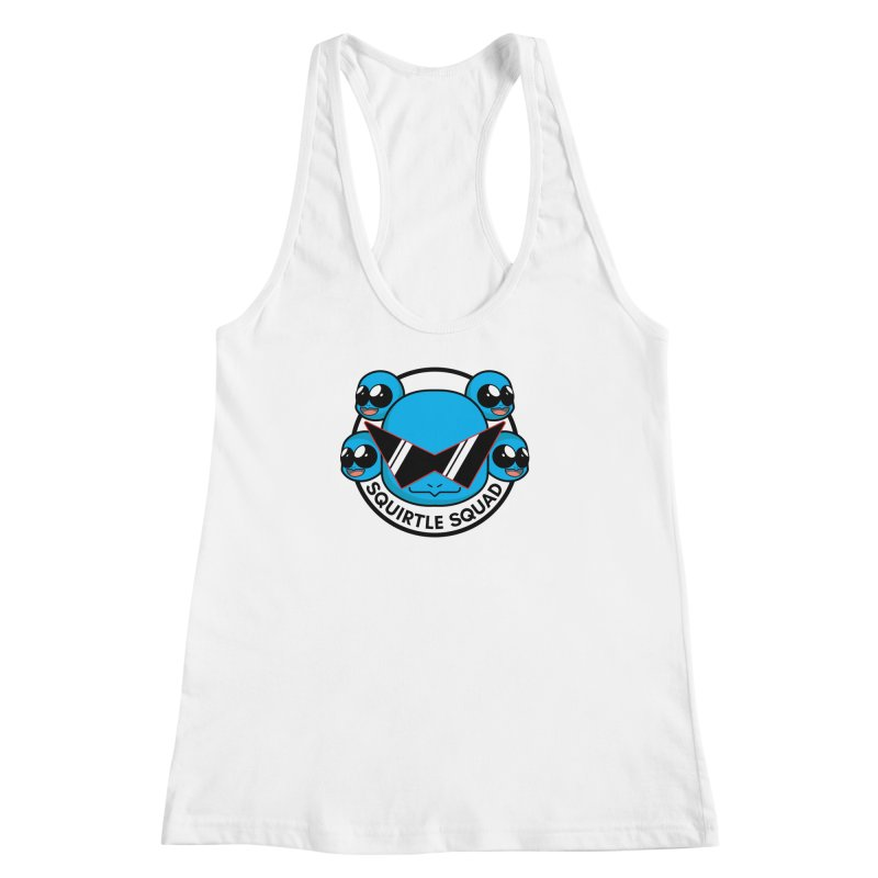 SQUAD GOALS WITH THE SQUIRTLE SQUAD Women's Racerback Tank by jaredslyterdesign's Artist Shop