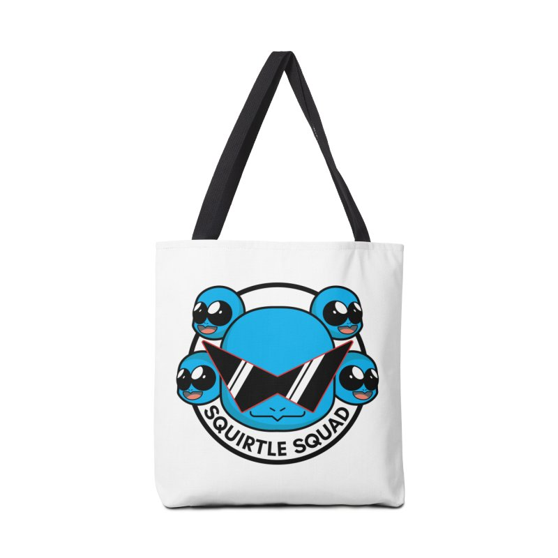 SQUAD GOALS WITH THE SQUIRTLE SQUAD Accessories Bag by jaredslyterdesign's Artist Shop