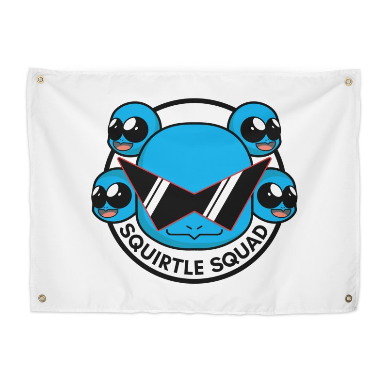 SQUAD GOALS WITH THE SQUIRTLE SQUAD Home Tapestry by jaredslyterdesign's Artist Shop