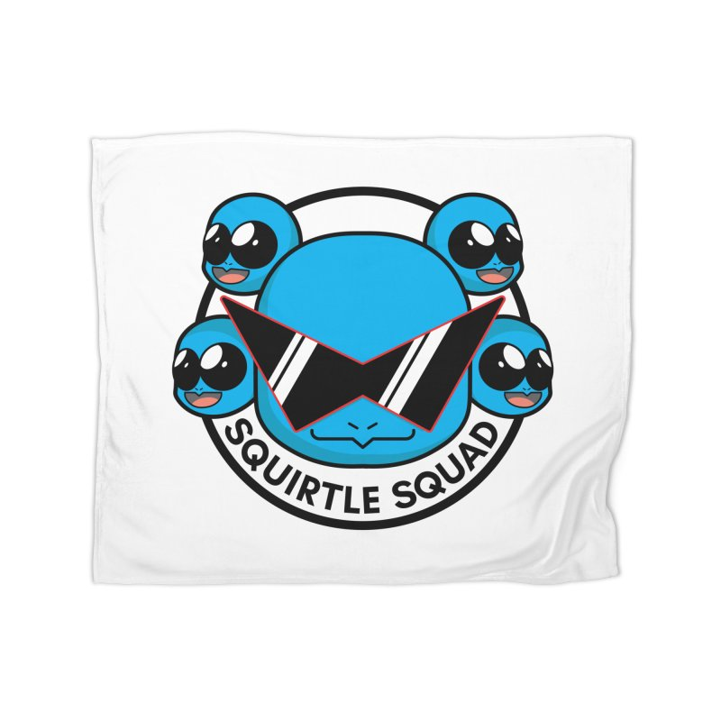 SQUAD GOALS WITH THE SQUIRTLE SQUAD Home Fleece Blanket Blanket by jaredslyterdesign's Artist Shop