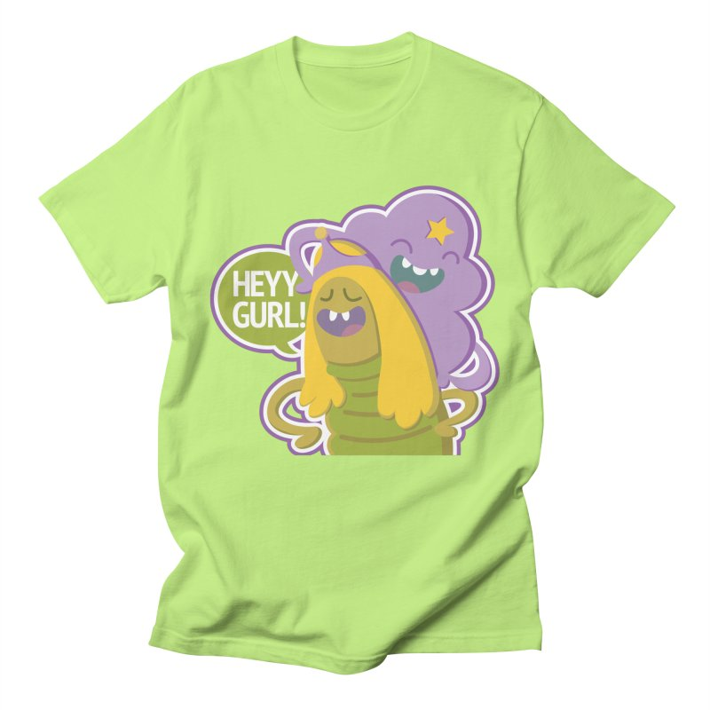 Heyy Gurl! Lumpy Space Princess (LSP) and Turtle Princess  Women's Unisex T-Shirt by jaredslyterdesign's Artist Shop