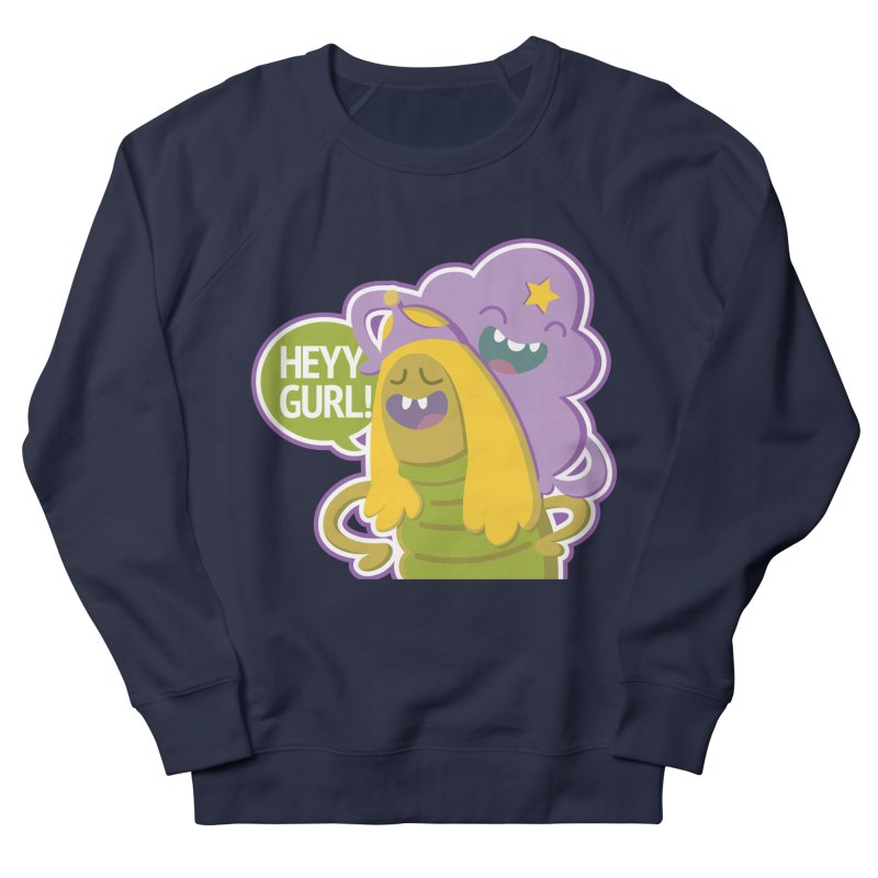 Heyy Gurl! Lumpy Space Princess (LSP) and Turtle Princess  Women's Sweatshirt by jaredslyterdesign's Artist Shop