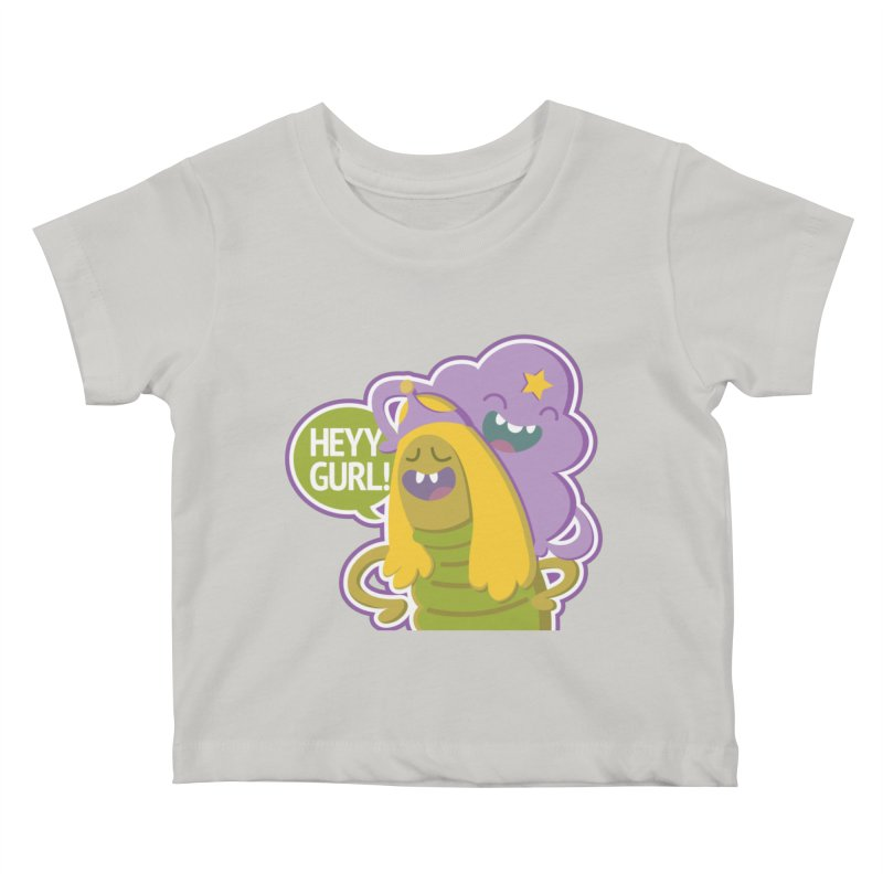 Heyy Gurl! Lumpy Space Princess (LSP) and Turtle Princess    by jaredslyterdesign's Artist Shop