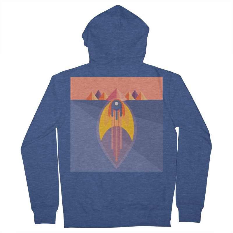 Take to the Skies Men's Zip-Up Hoody by jaredslyterdesign's Artist Shop