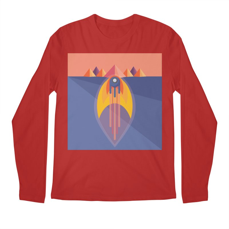 Take to the Skies Men's Longsleeve T-Shirt by jaredslyterdesign's Artist Shop