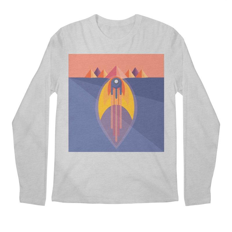 Take to the Skies Men's Regular Longsleeve T-Shirt by jaredslyterdesign's Artist Shop