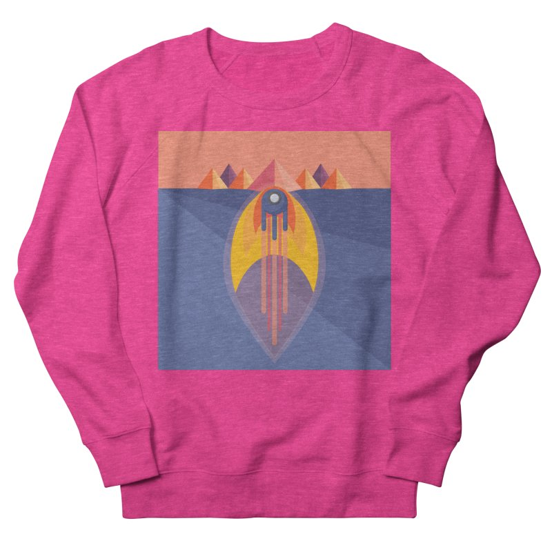 Take to the Skies Women's French Terry Sweatshirt by jaredslyterdesign's Artist Shop