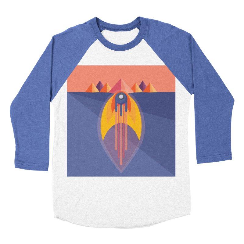 Take to the Skies Men's Baseball Triblend Longsleeve T-Shirt by jaredslyterdesign's Artist Shop
